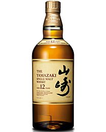 Suntory Yamazaki 12 Year Old 700ml (Single Malt Japanese Whisky)