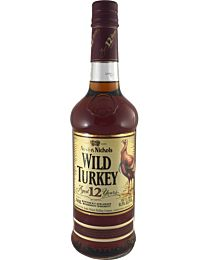 Wild Turkey 12 Year Old Kentucky Straight Bourbon Whiskey 700ml