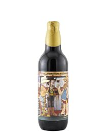 Against The Grain Not Here To Fornicate With Arachnids Bourbon Barrel Aged Baltic Porter 500ml