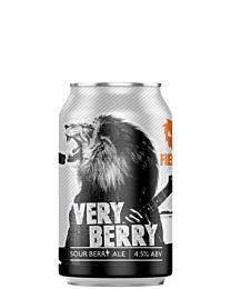 Fierce Beer Very Berry Sour Berry Ale 330ml