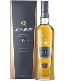Glen Grant Rare Edition 18 Year Old Single Malt Scotch Whisky 700ml (Speyside, Scotland)