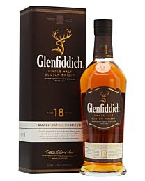 Glenfiddich 18 Year Old Single Malt Scotch Whisky (700ml)