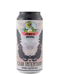 Venom Clear Intentions Double Golden Ale 440ml