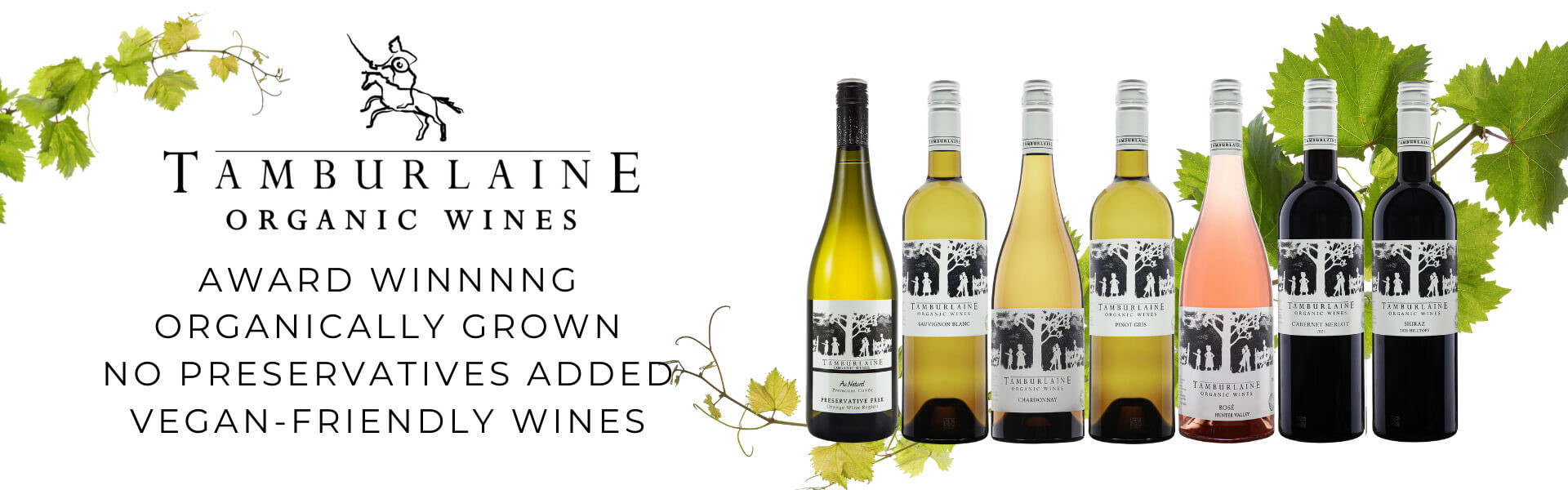 Buy organic, preservative free & vegan friendly wines from Tamburlaine online at Wine Sellers Direct - Australia's independent liquor specialists.