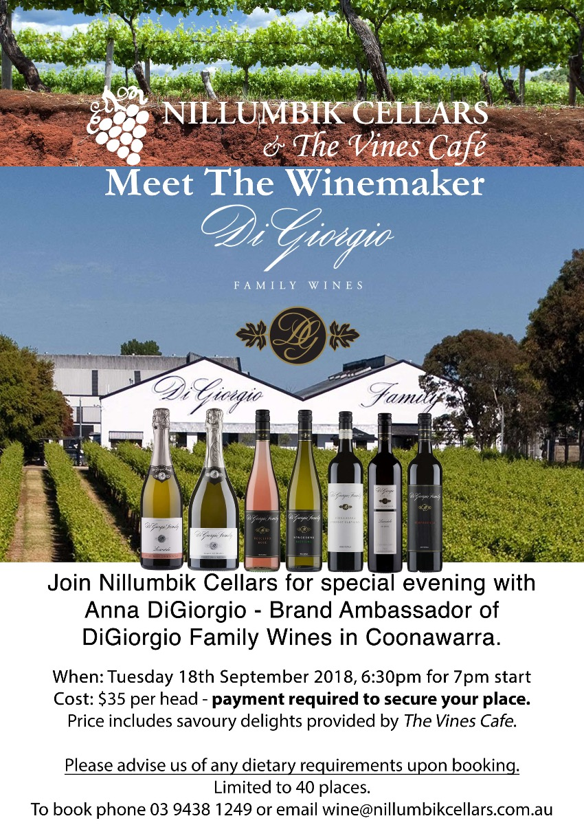 DiGiorgio-Family-Wines-Meet-The-Winemaker-at-Nillumbik-Cellars