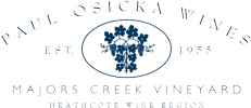 Paul Osicka Wines Heathcote