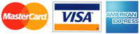 Wine Sellers Direct accepts major credit cards MasterCard, Visa & American Express payments.