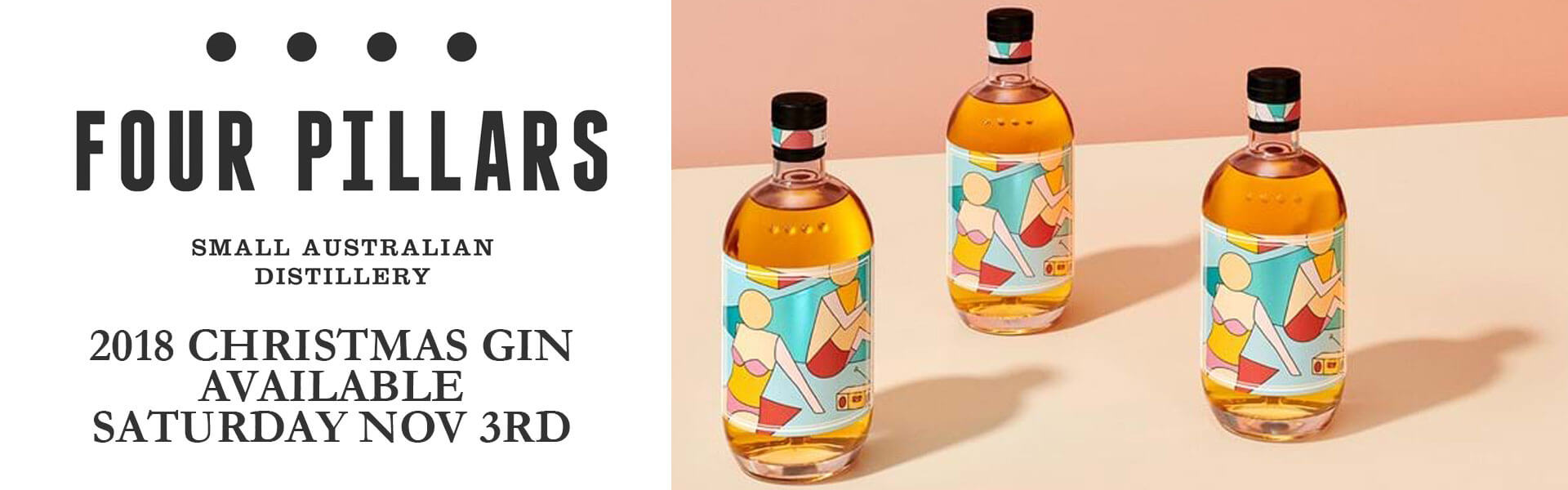 Four Pillars Australian Christmas Gin 2018 available here at Wine Sellers Direct.